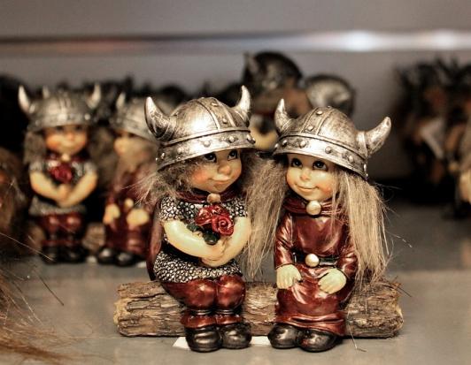 Фигурки шведских викингов (Viking)