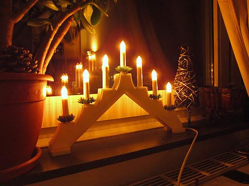 Рождественский семисвечник