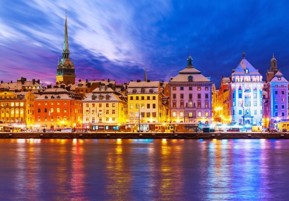 Швеция Стокгольм